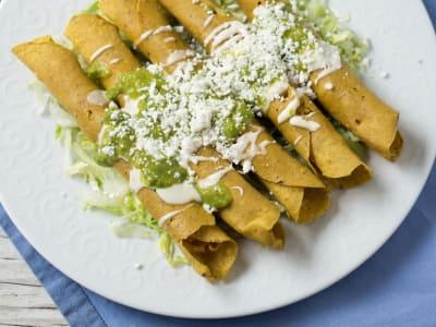 Mexican Chicken Flautas