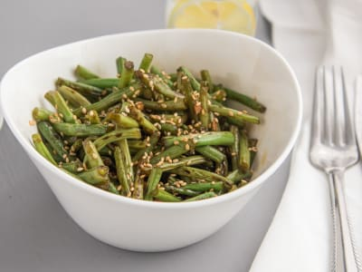 Ginger and Garlic Green Beans