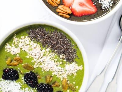 Minted Kale Breakfast Bowl
