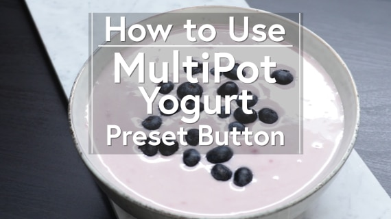 Using the Yogurt Button