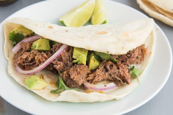 Slow Cooker Shredded Beef for Tacos