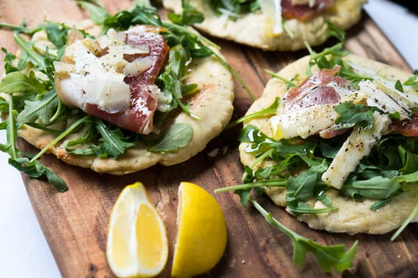 Gluten-Free Grilled Pizza Crust