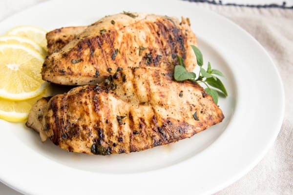 Lemon and Oregano Grilled Chicken