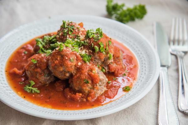 Easy Dinner Meatballs
