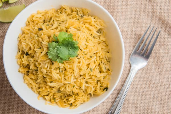 Lime and Cilantro Rice