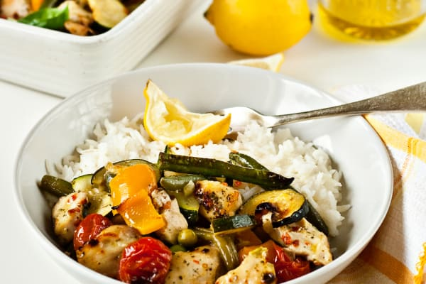 Quick and Easy Chicken and Vegetable Bake
