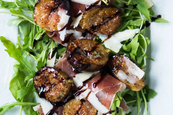 Summertime Fig and Prosciutto Salad