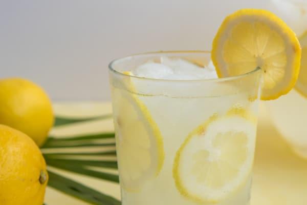 Rose Water and Lemon Juice