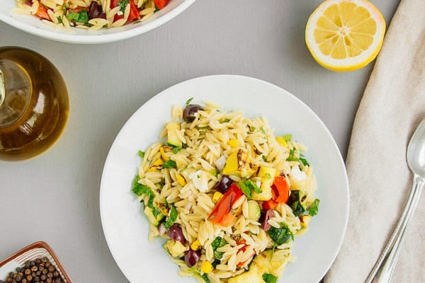 Summer Vegetable and Pasta Salad