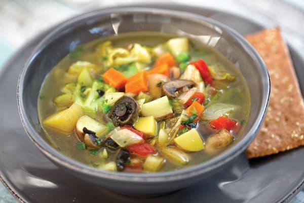Pressure Cooker Vegetable Soup