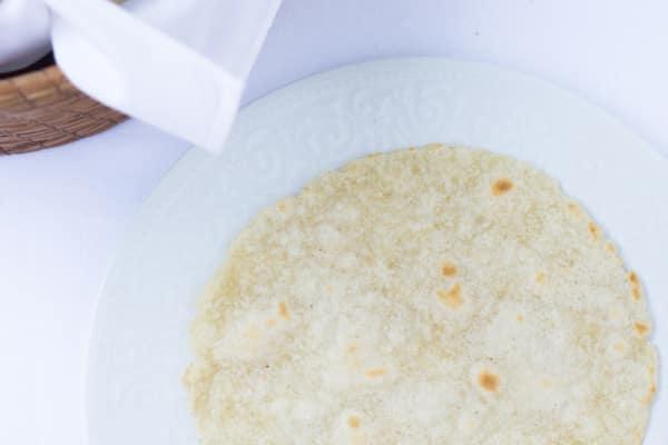 Gluten-Free 'Flour' Tortillas