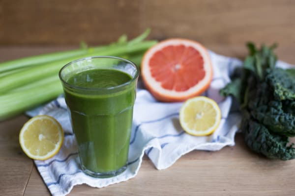 Kale-Grapefruit Juice