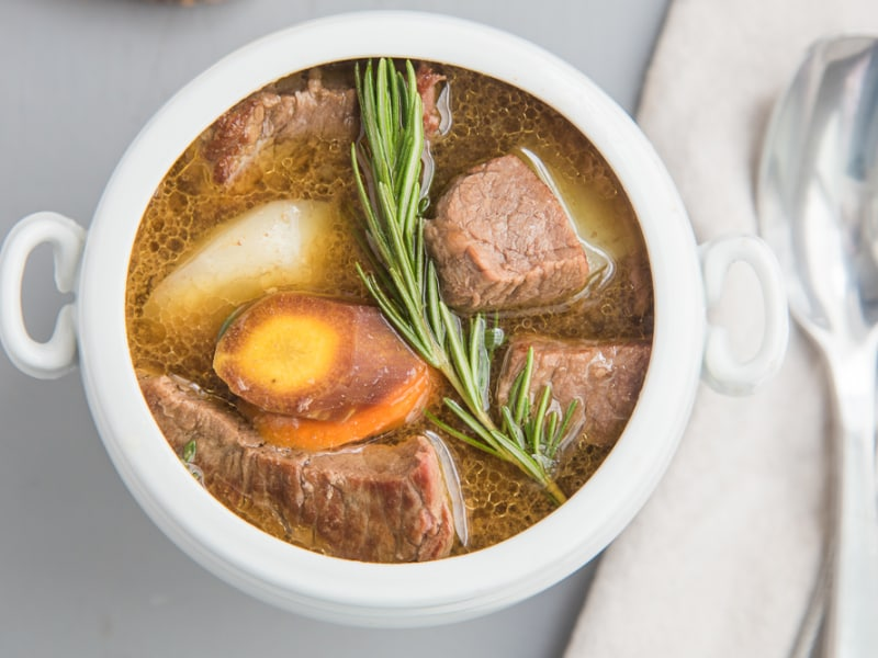 Slow Cooker Classic Roast Beef Stew