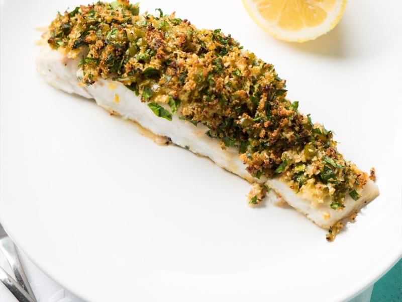 Gluten-Free Parmesan-Crusted Fish