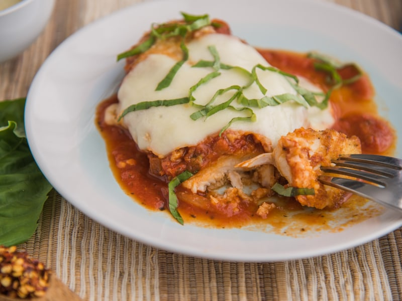 Classic Chicken Parmigiana Mealthy Com