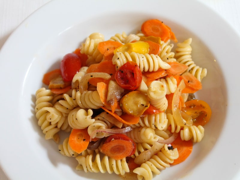 Pasta Salad with Summer Vegetables
