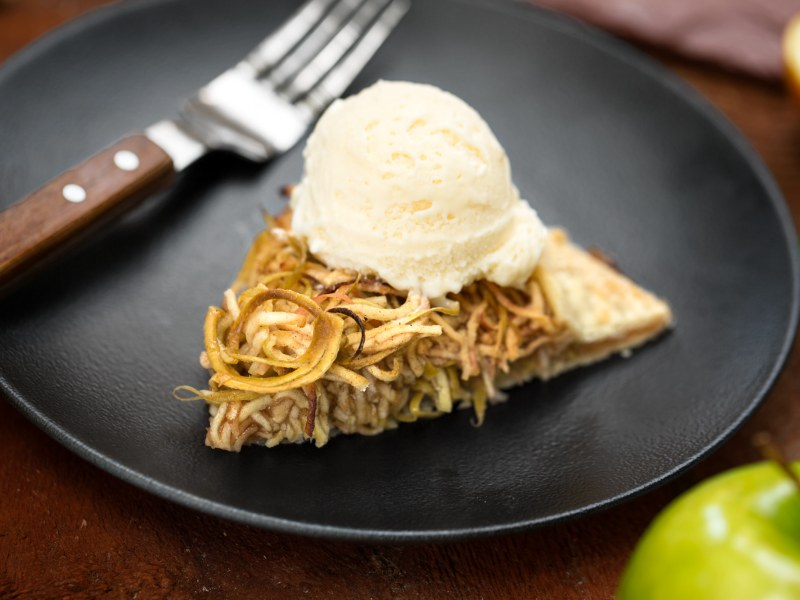 Spiralized Apple Galette