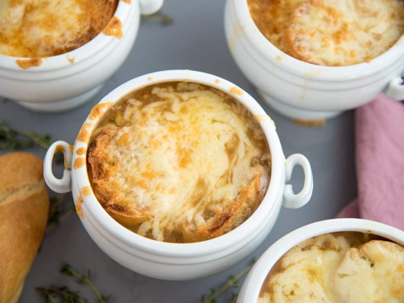 Pressure Cooker French Onion Soup