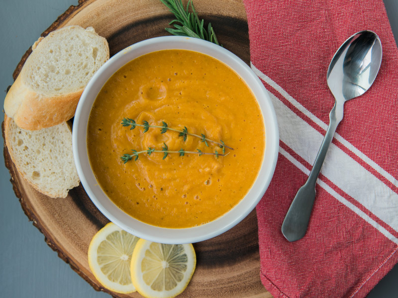 Sweet Peppers & Vegetable Soup