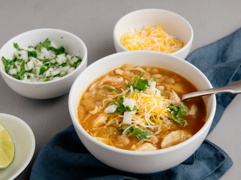 30-Minute White Bean Chicken Chili