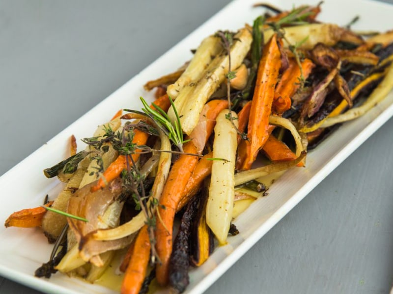 Roasted Farmers' Market Vegetable Medley