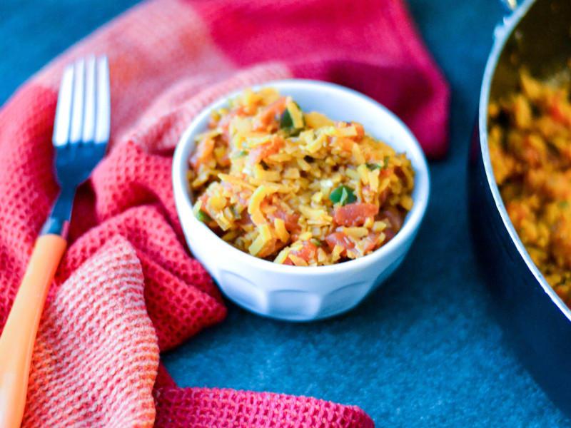 Mexican-Style Sweet Potato Rice