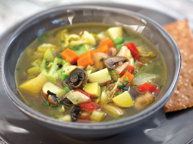 Pressure Cooker Vegetable Soup