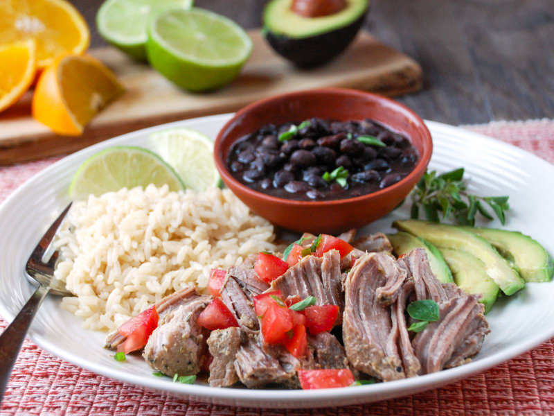 Pressure Cooker Cuban Pork