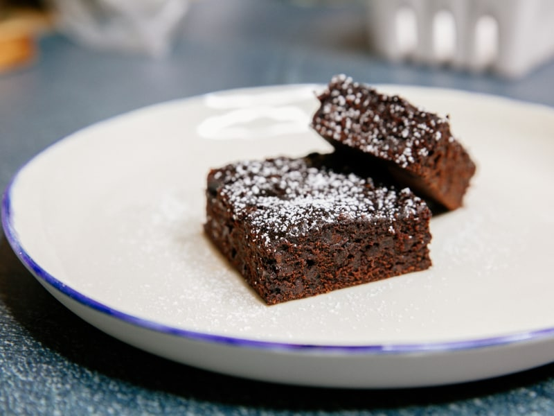 Pressure Cooker Chocolate Brownies