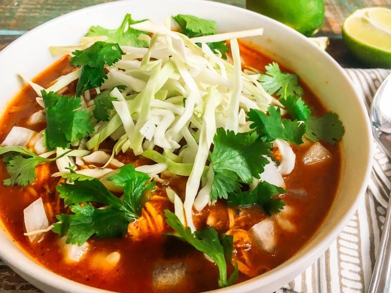 Chicken Posole Soup