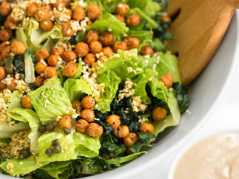 Sesame Caesar Salad
