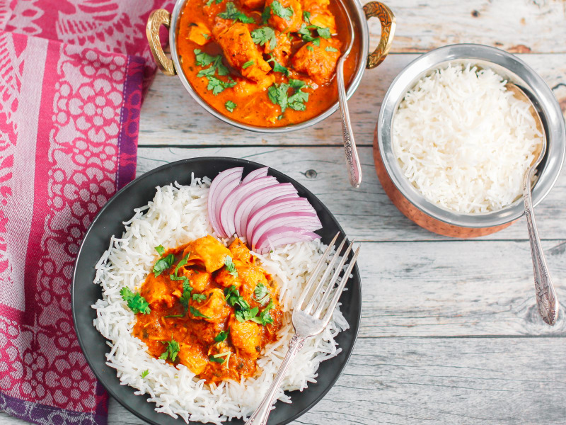 Slow Cooker Butter Chicken (Murgh Makhani)