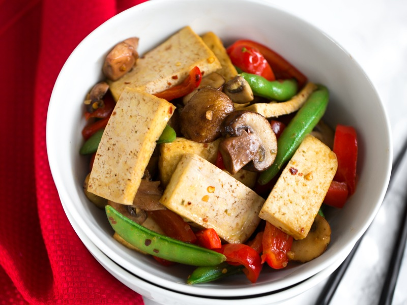 Lemongrass Tofu Stir-Fry