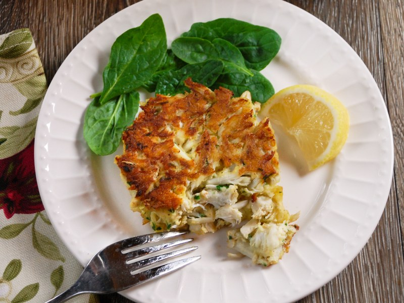 Simple and Classic Crab Cakes