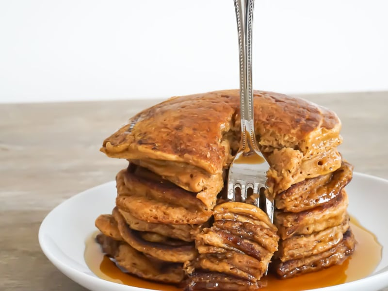 Whole-Wheat Pumpkin Pancakes