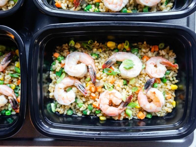 Meal Prep: Shrimp Fried Rice