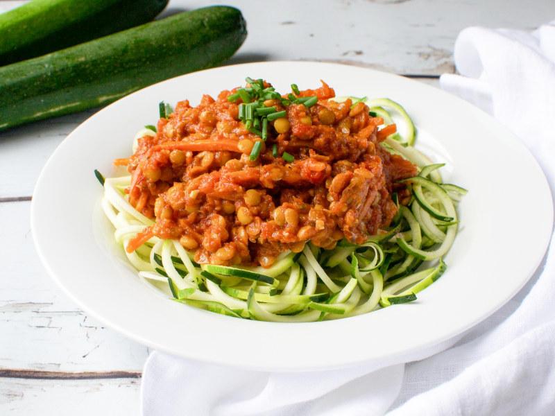 Pressure Cooker Vegan Bolognese