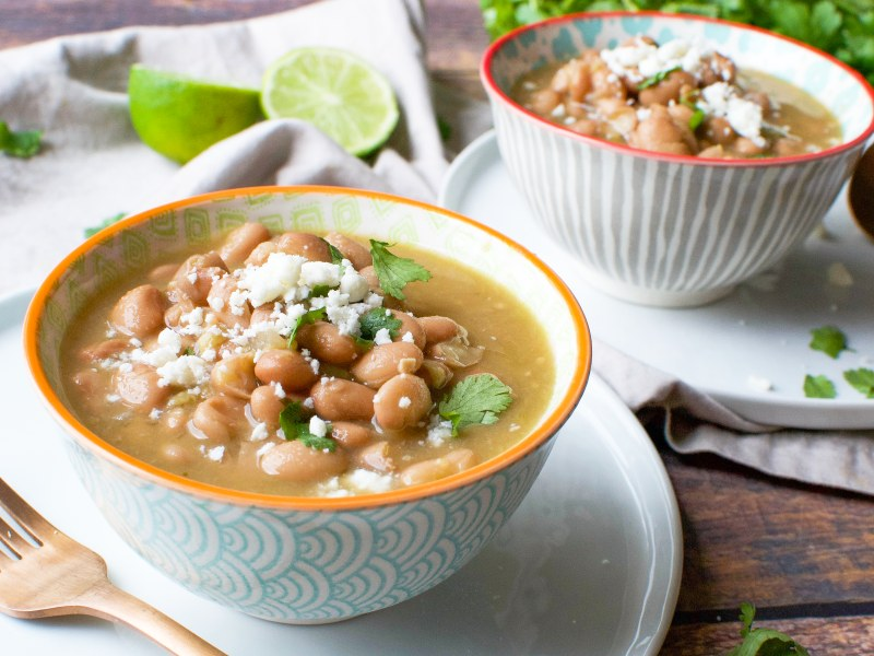Pressure Cooker Mexican Pinto Beans