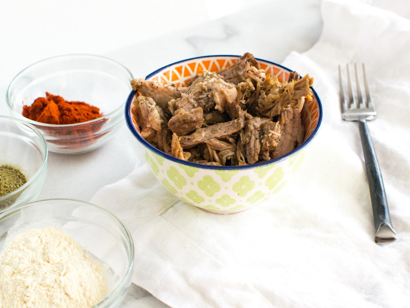 Pressure Cooker Jamaican Jerk Pulled Pork