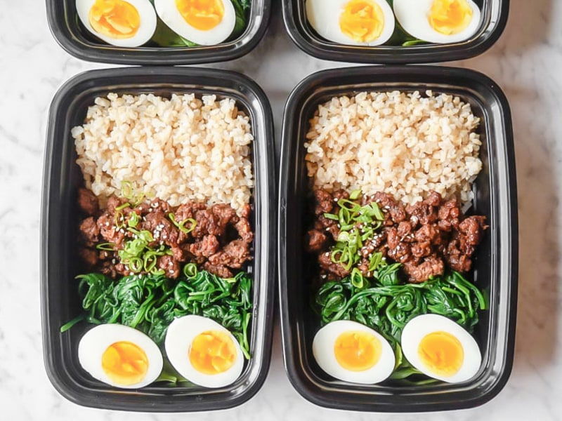 Meal Prep: Korean Beef Bowls