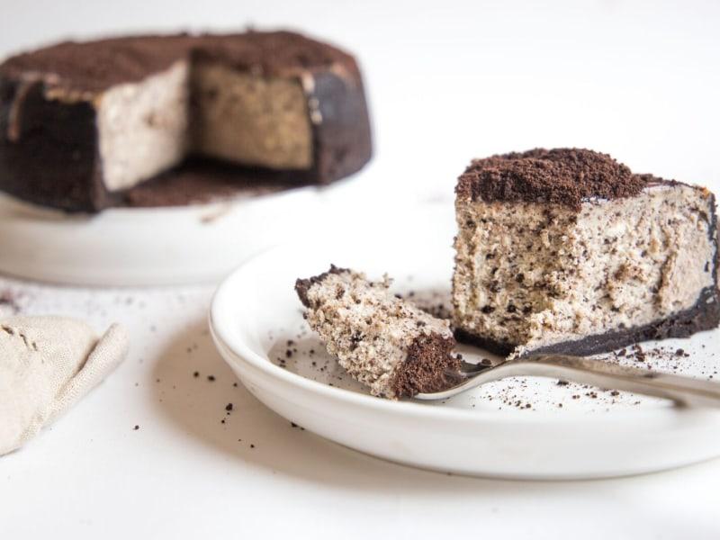 Pressure Cooker Oreo Cheesecake