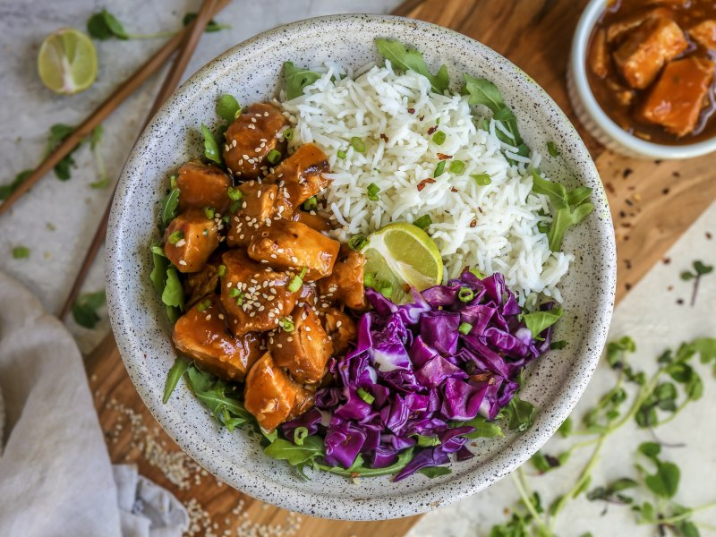Pressure Cooker Sweet Chili Soy Chicken