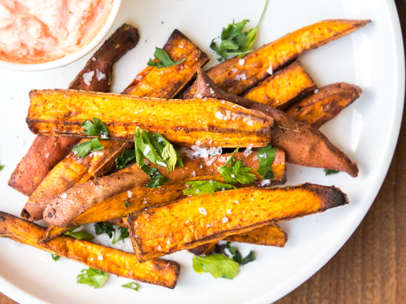 Air Fryer Sweet Potato Wedges