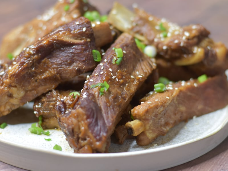 Pressure Cooker Korean Spare Ribs