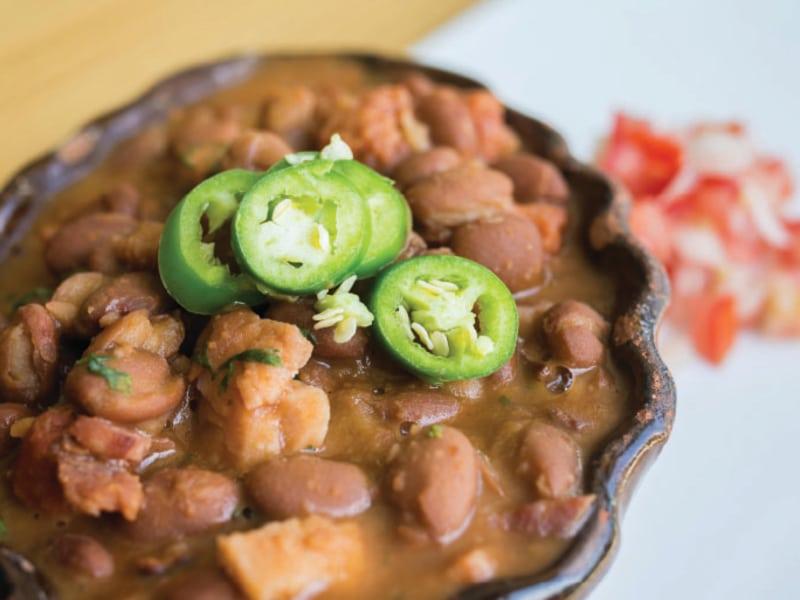Pressure Cooker Charro Beans