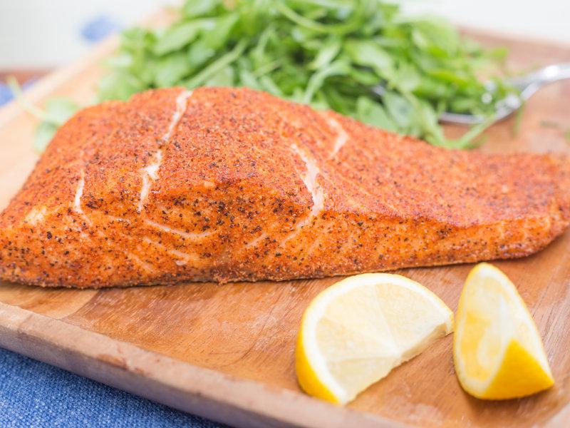 Air Fryer Cajun Salmon