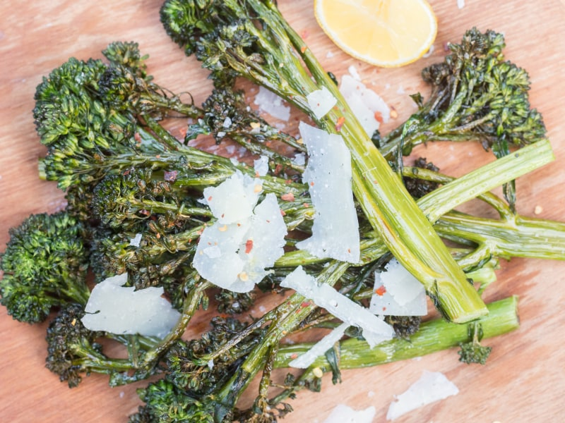 Air Fryer Broccolini