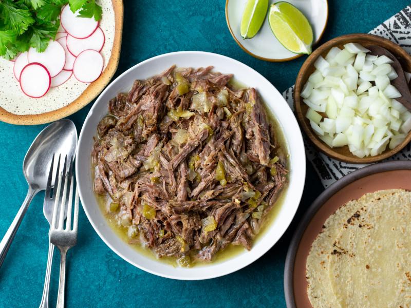 Pressure Cooker Machaca Beef