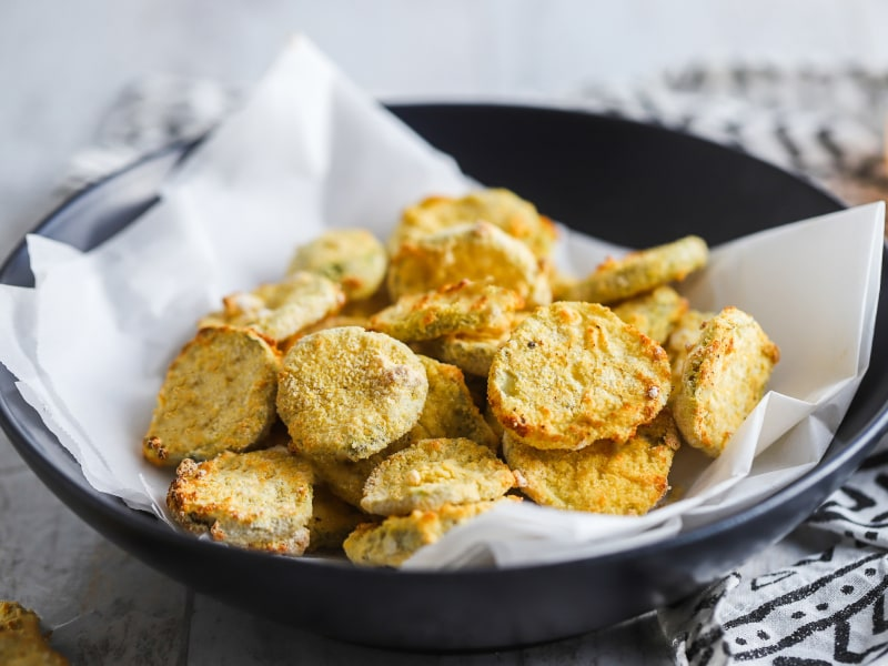 CrispLid Fried Pickles