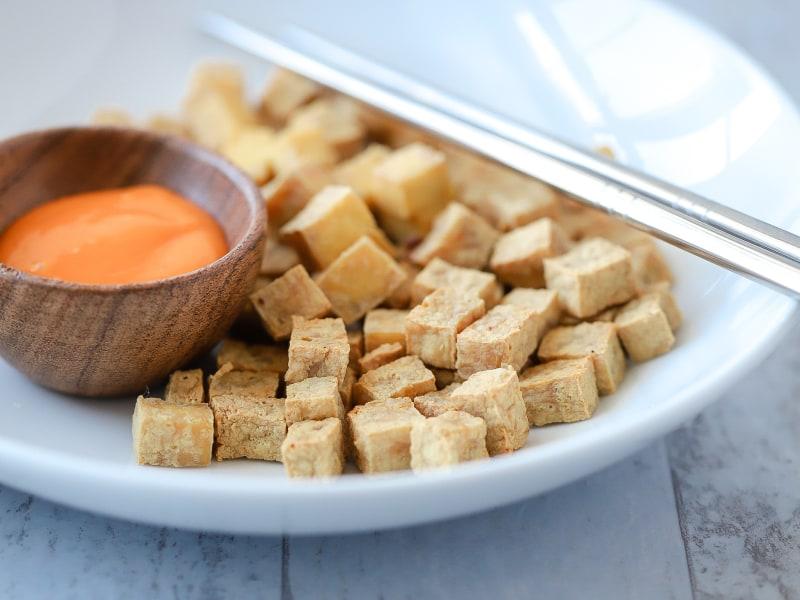 CrispLid Crispy Tofu